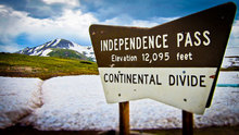 Take a Day Trip From the Frisco Lodge: Aspen Via Independence Pass