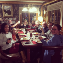 Thanksgiving at the Frisco Lodge